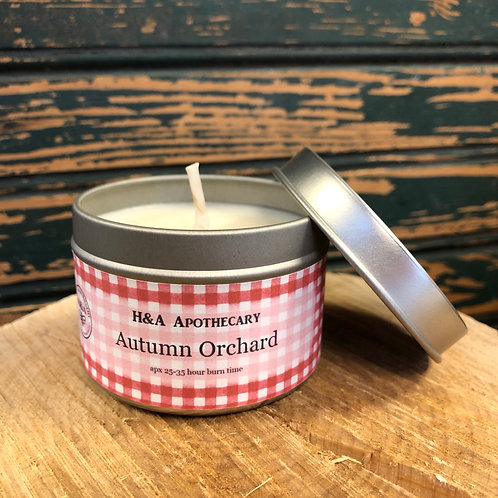 Autumn Orchard Soy Candle