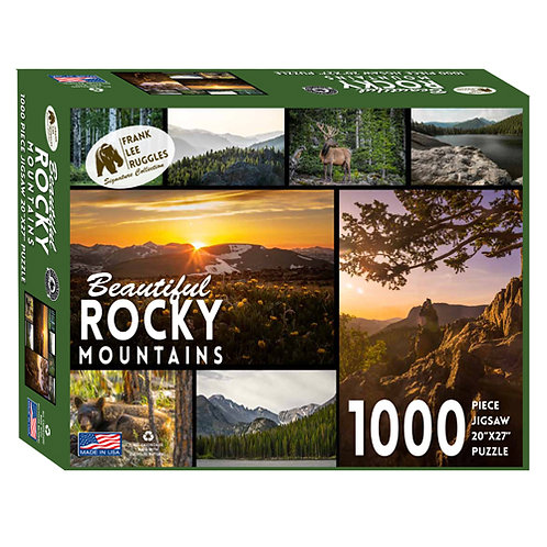 Frank Lee Ruggles Rocky Mountains Puzzle