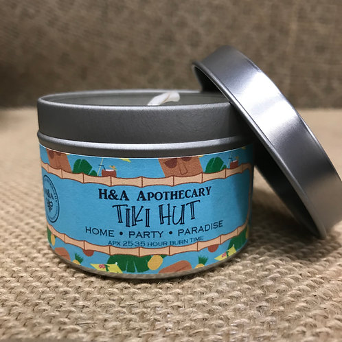 Tiki Hut Candle