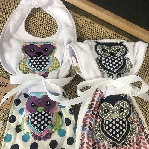 Handmade Baby Set: Owl