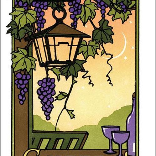 Letterpress Card: Cheers!