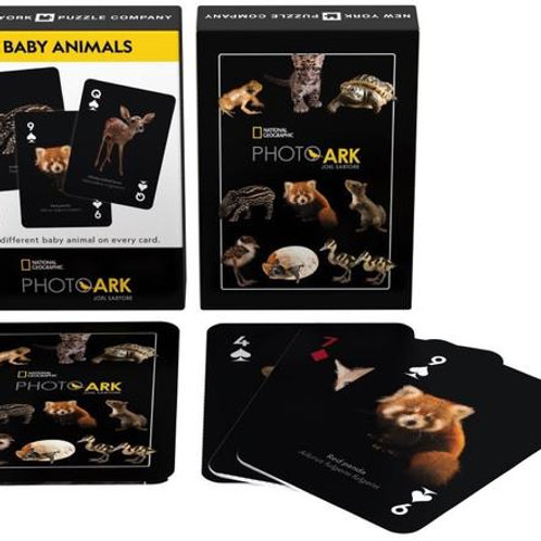 Playing Cards: National Geographic Baby Animals