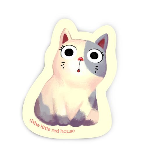 Chubby Cat Sticker