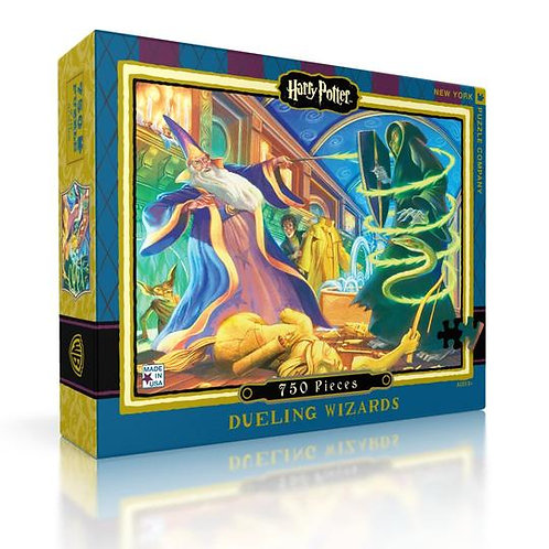 Harry Potter Puzzle: Dueling Wizards