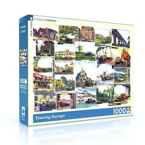 Touring Europe Car Puzzle