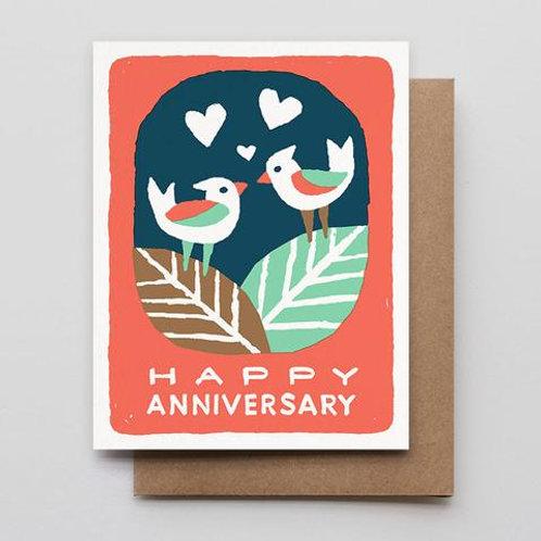 Greeting Card: Anniversary