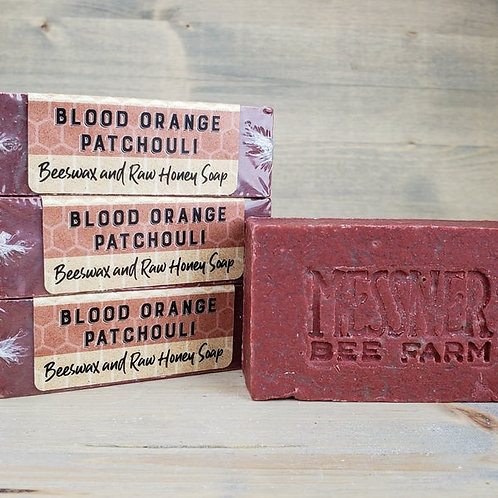 Blood Orange and Patchoulli Soap