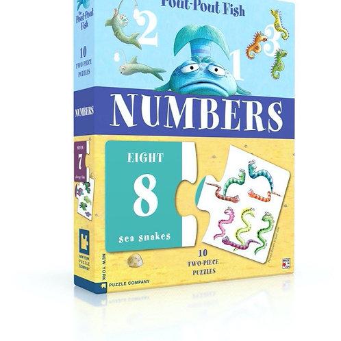Pout Pout Numbers Puzzle