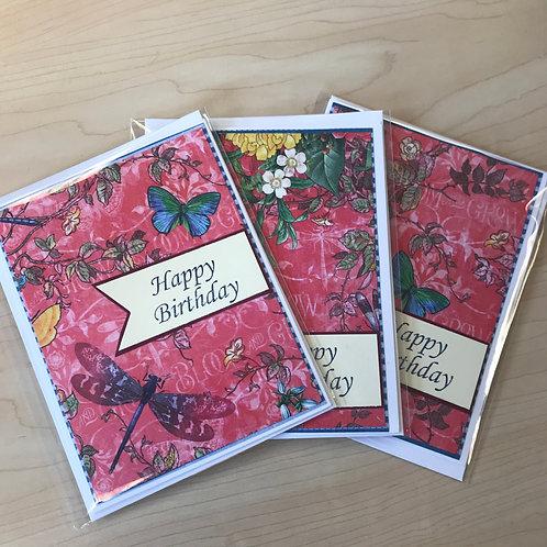 Handmade Greeting Card: Birthday