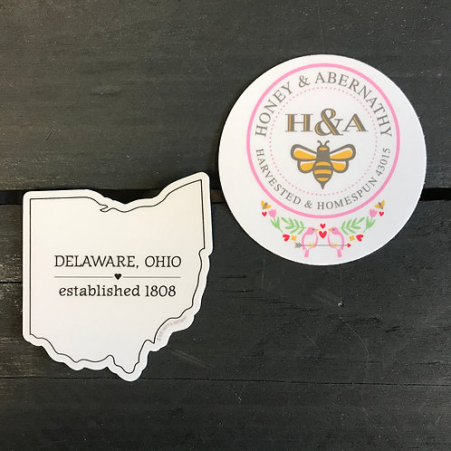 H&A Stickers