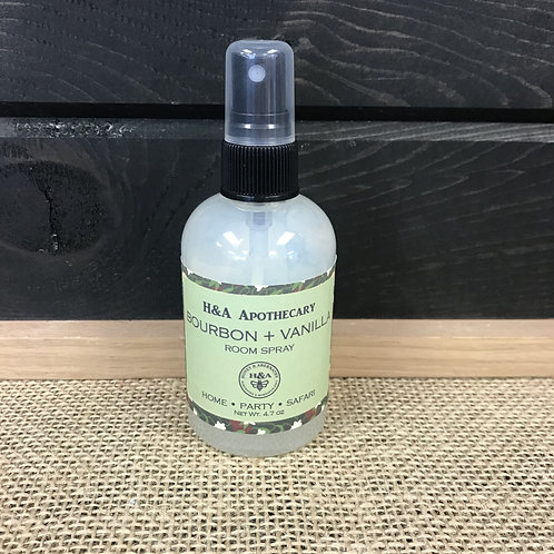 Bourbon + Vanilla Room Spray Mist
