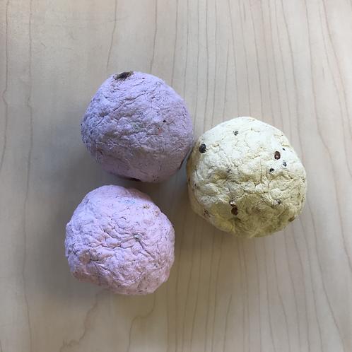 Handmade Seed Bomb