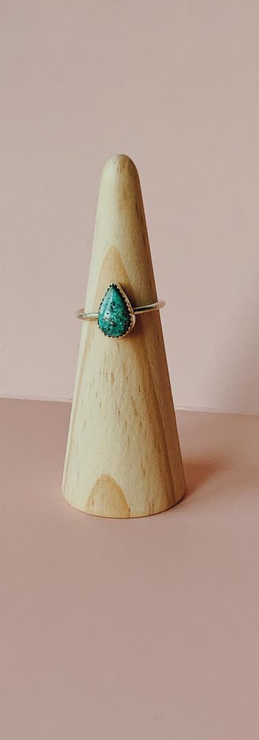custom chrysocolla ring