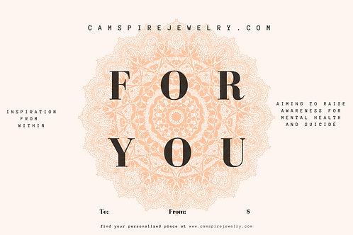 Camspire Gift Card (50)