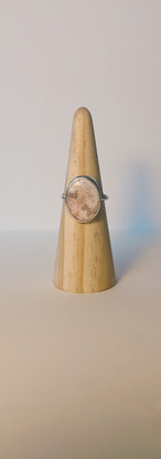 custom pink opal ring