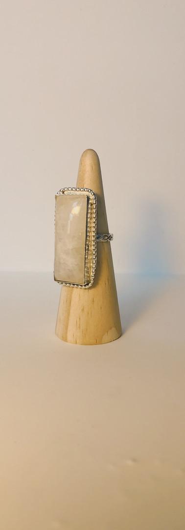 custom moonstone ring