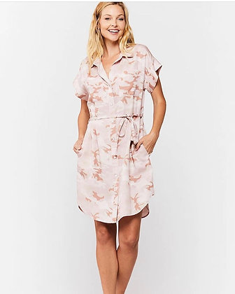 Camouflage Pink Dress