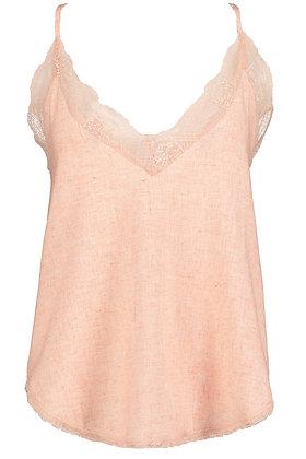 Lotus Pink Lace Cami