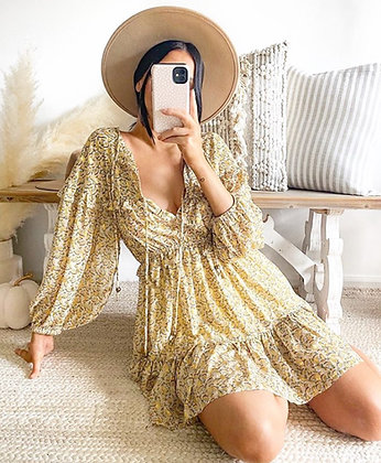 Afterglow Boho Dress