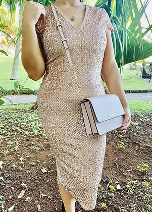 Oyster Sequin Dress