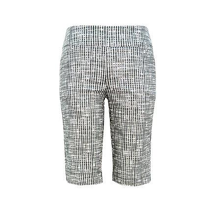 Grey Weave Shorts