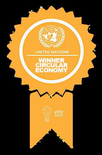 plus305: Finalistin des Uno-Wettbewerbs fur Kreislaufwirtschaft.