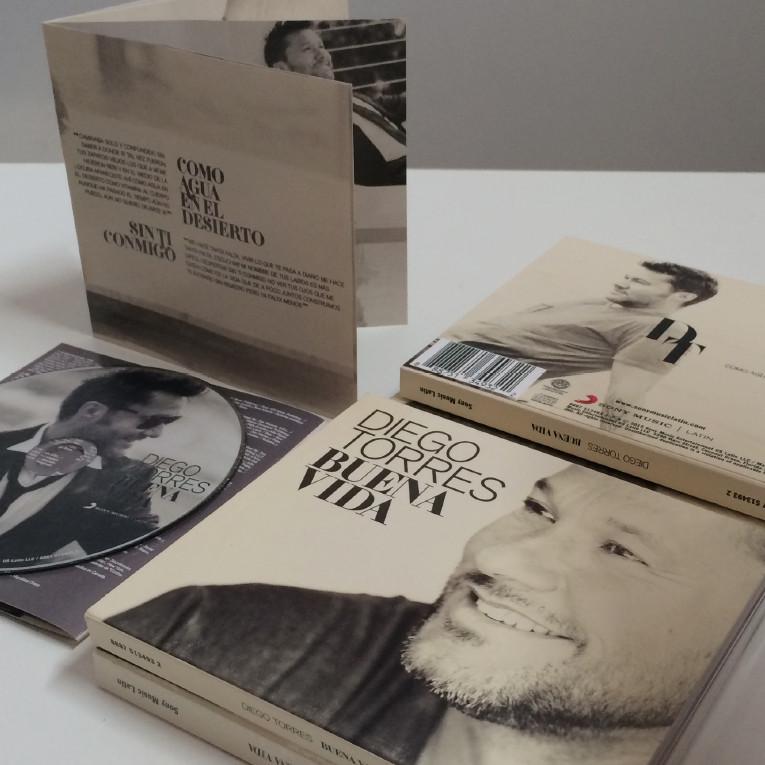 """Buena Vida"" Album - Diego Torres"