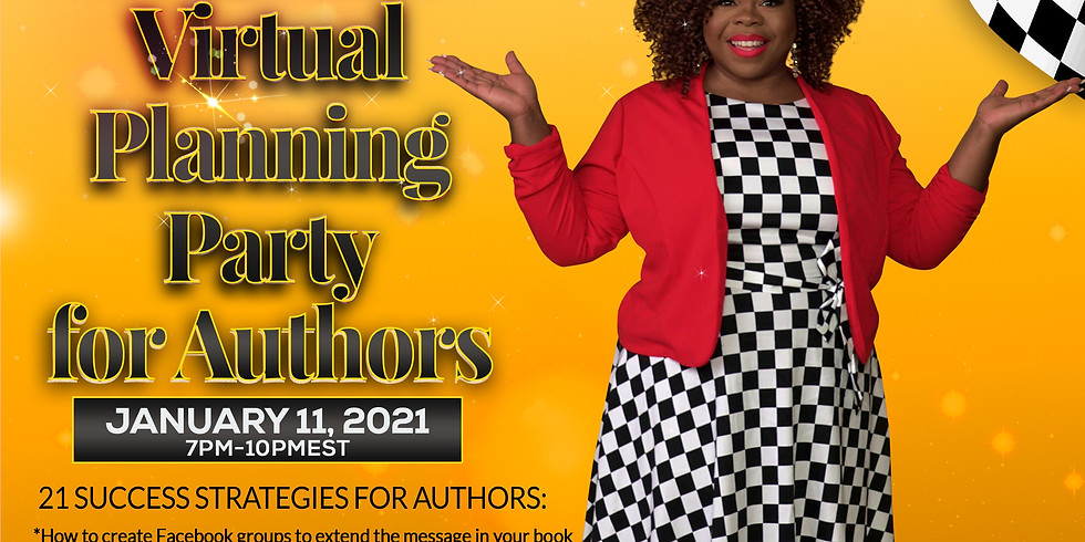 2021 Virtual Planning Party (21 Success Strategies for Authors)