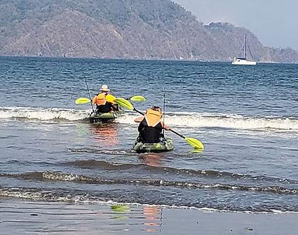 Kayaking in Pochote