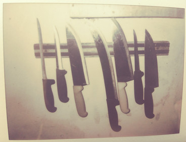 knife polaroid