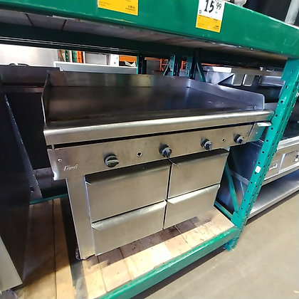 "42"" Quest Gas Griddle"