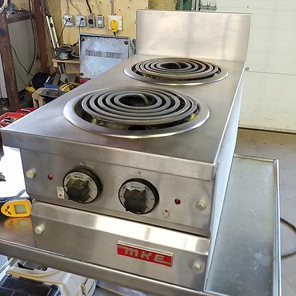2 Burner Electric Cooktop