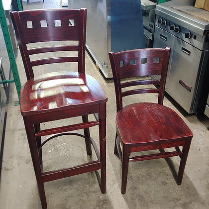 Wooden Chairs Lot