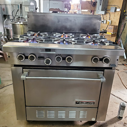 6 Burner Range w/ Convection Oven