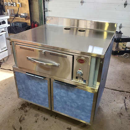 "36"" Worktop w/ Warming Drawer"