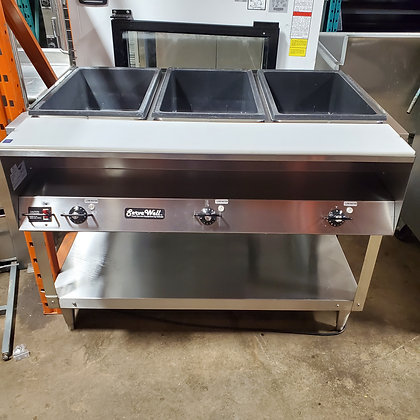 Vollrath 3 Well Steam Table