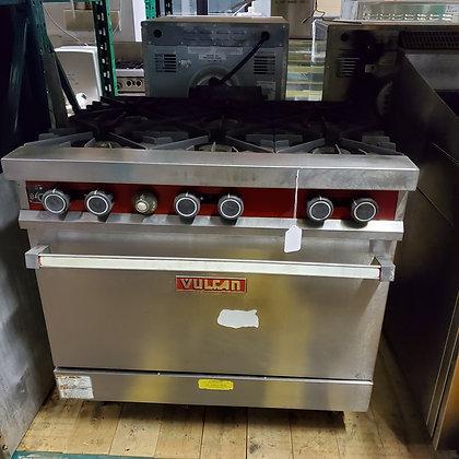 Vulcan 6 Burner Range