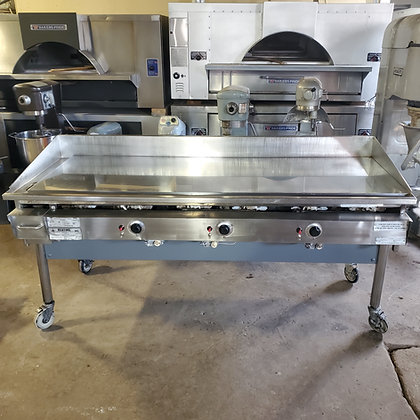6' Miraclean Chrome Griddle