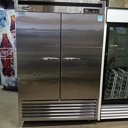[SOLD] 2 Door Stainless Steel Cooler