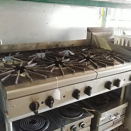 Quest 8 Burner Cooktop