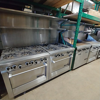 Garland Front Manifold Cooking Equipment