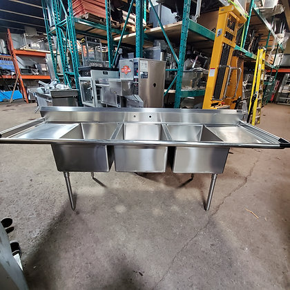 Franesse 3 Basin Sink with Drainboards