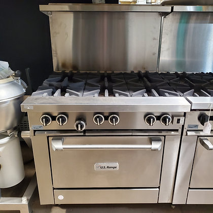 US Range 6 Burner with Convection Oven