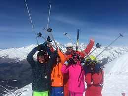 AIM ski school childrens' lessons in Les Arcs