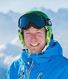 British ski instructor for Les Arcs ski lessons