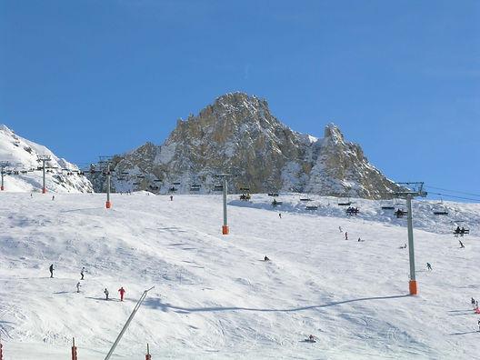 Peisey-Vallandry's excellent teaching ski slope