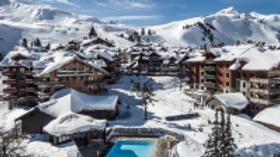 Arc 1950 ski resort