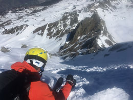 Les Arcs off piste lessons with Aim ski school