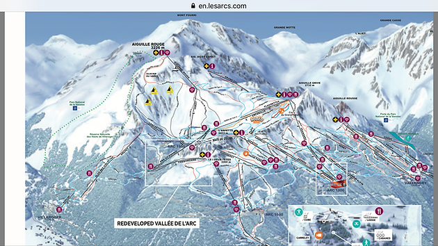 Whats new in Les Arcs for winter 20172018 Ski lessons Les