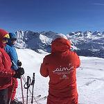 AIM Snowsports ski school private ski le